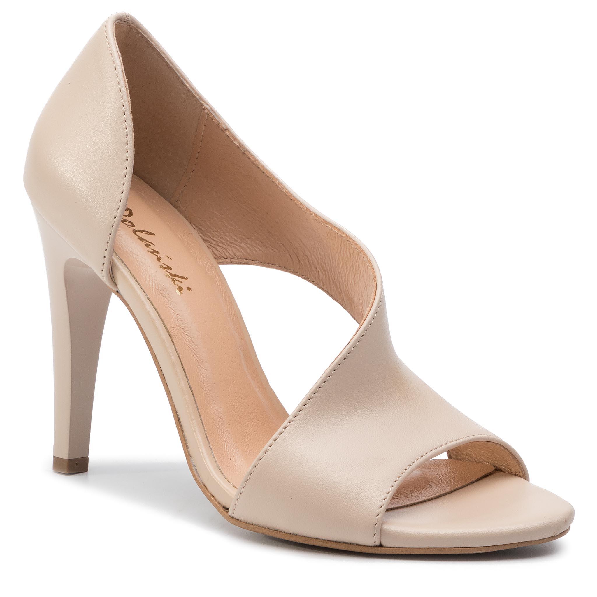 Image of High Heels R.POLAŃSKI - 0720 Beige