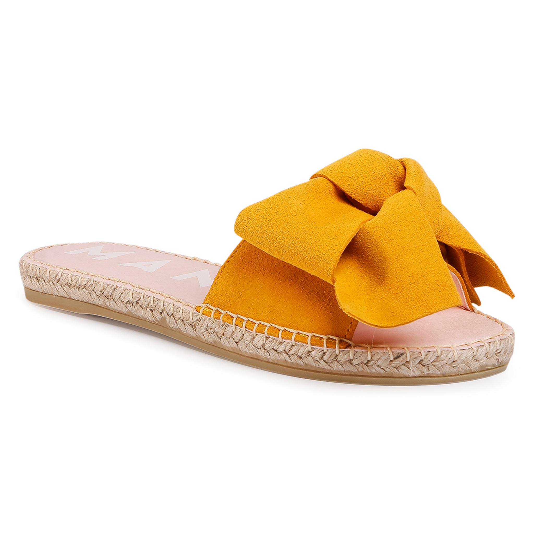 Image of Espadrilles MANEBI - Sandals With Bow M 2.4 J0 Banana
