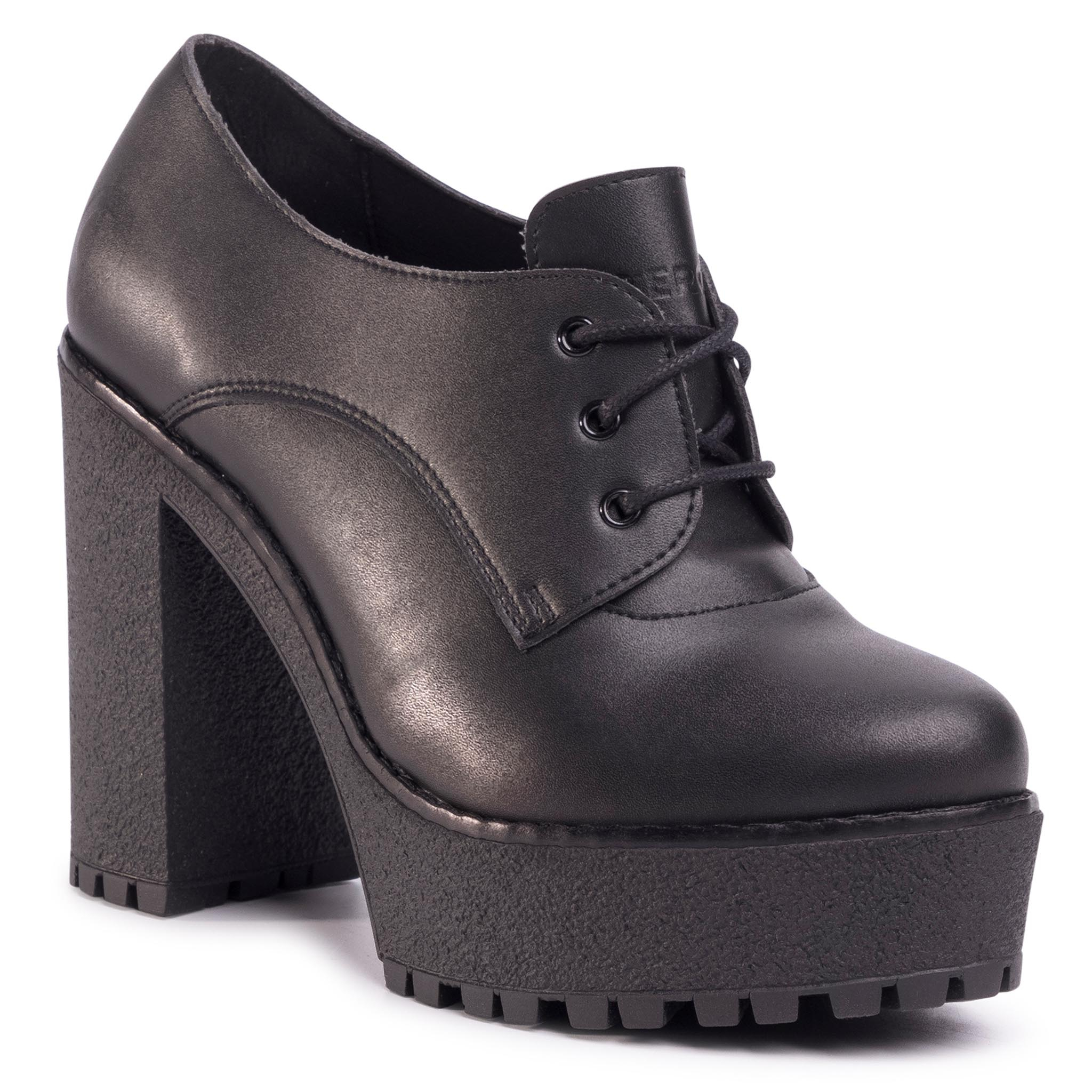Image of Halbschuhe ALTERCORE - Trixie Vegan Black