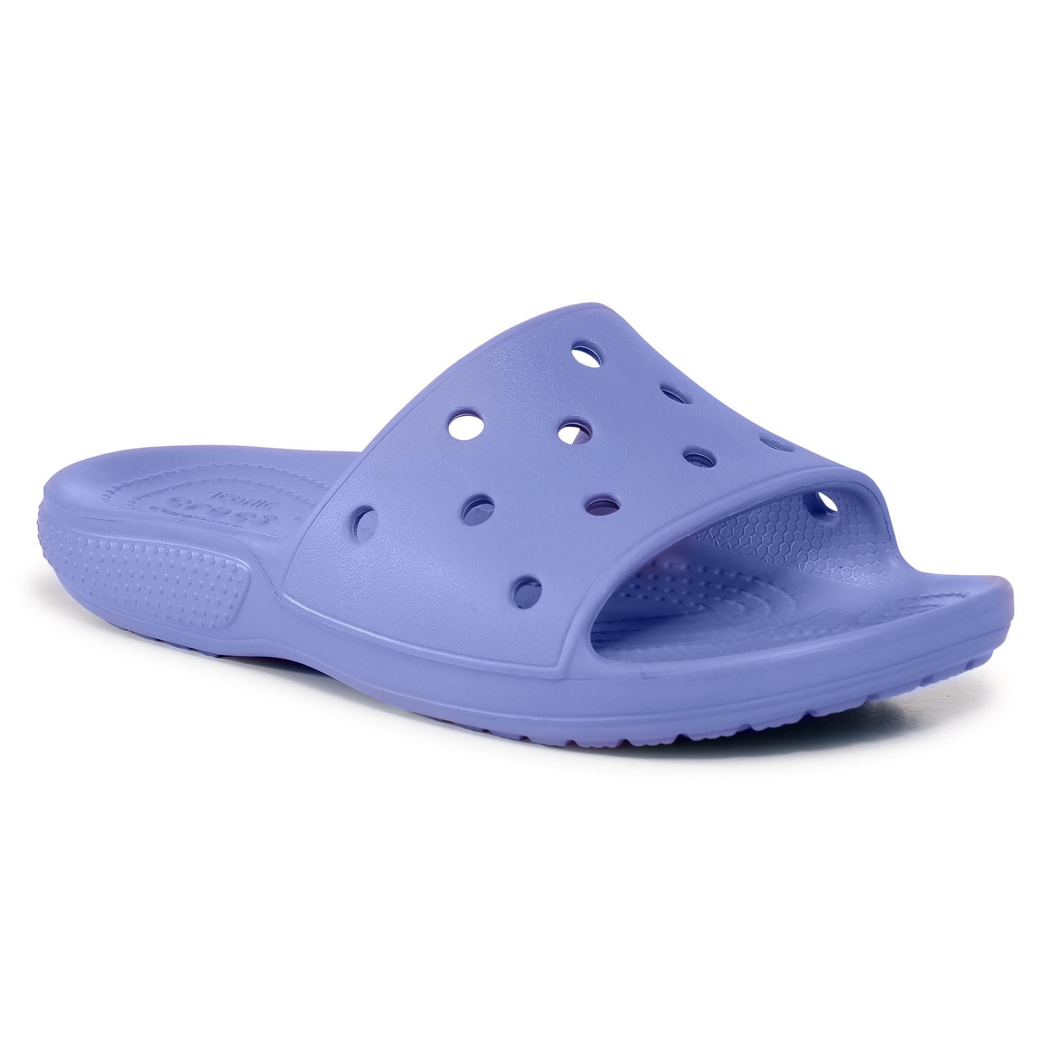 Image of Pantoletten CROCS - Classic Crocs Slide 206121 Lapis