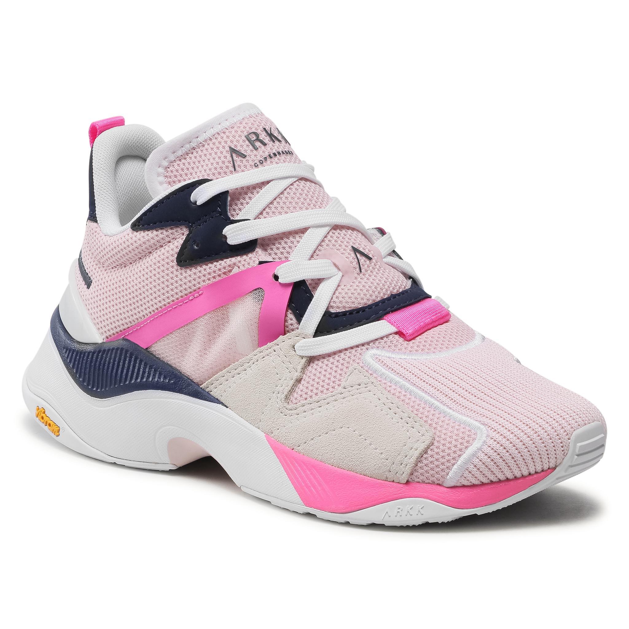 Image of Sneakers ARKK COPENHAGEN - Cruisr Mesh Vulkn Vibram TE5401-0204-W Light Pink White