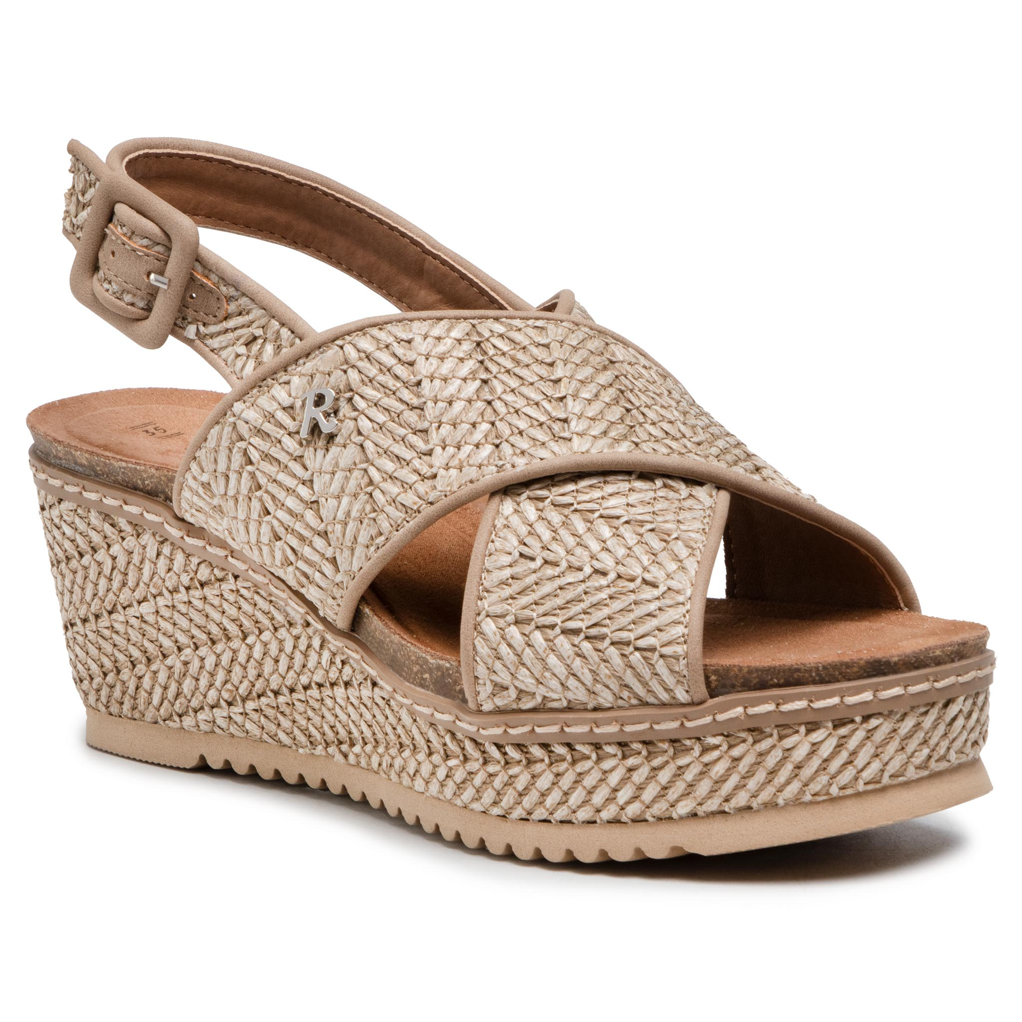 Image of Espadrilles REFRESH - 72714 Taupe