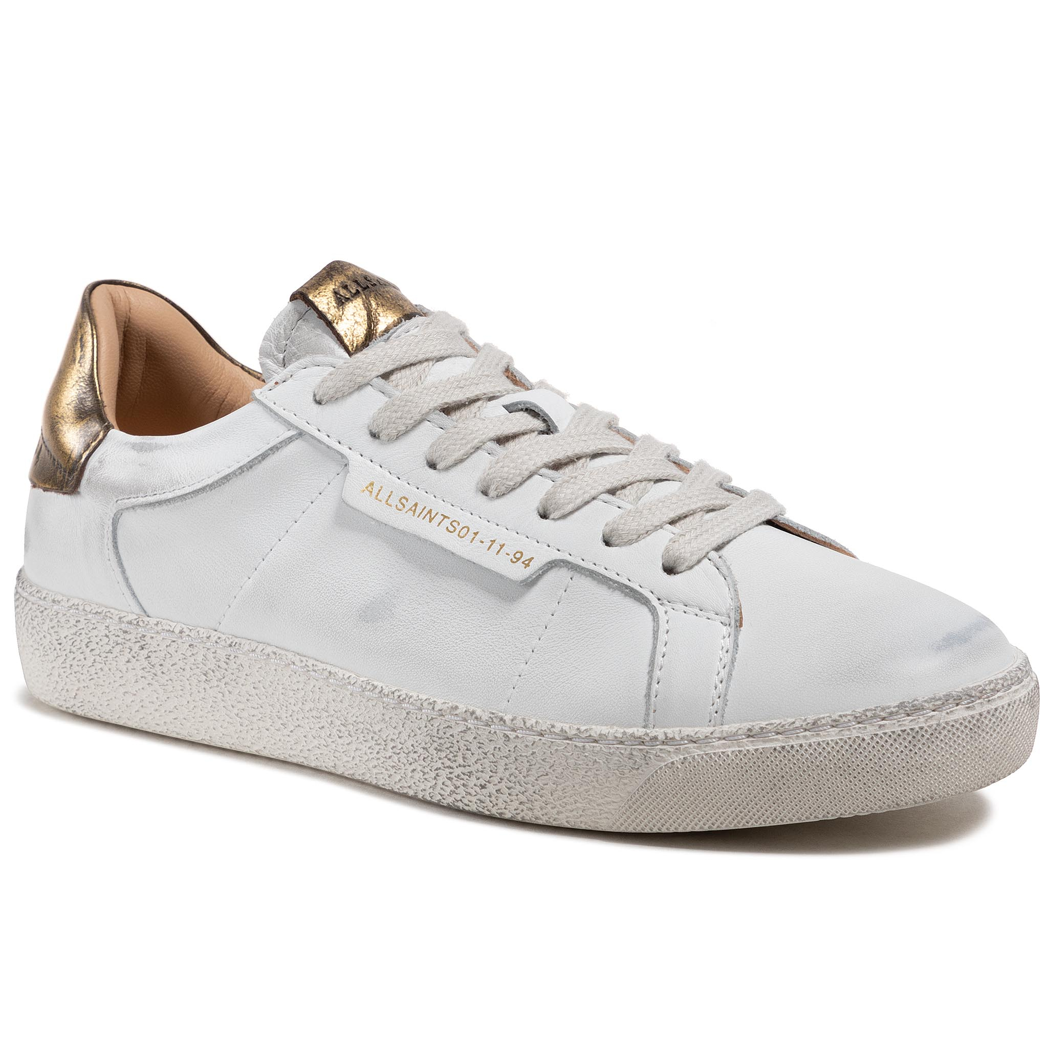 Image of Sneakers ALLSAINTS - Sheer B4ZW0352 White/Gold