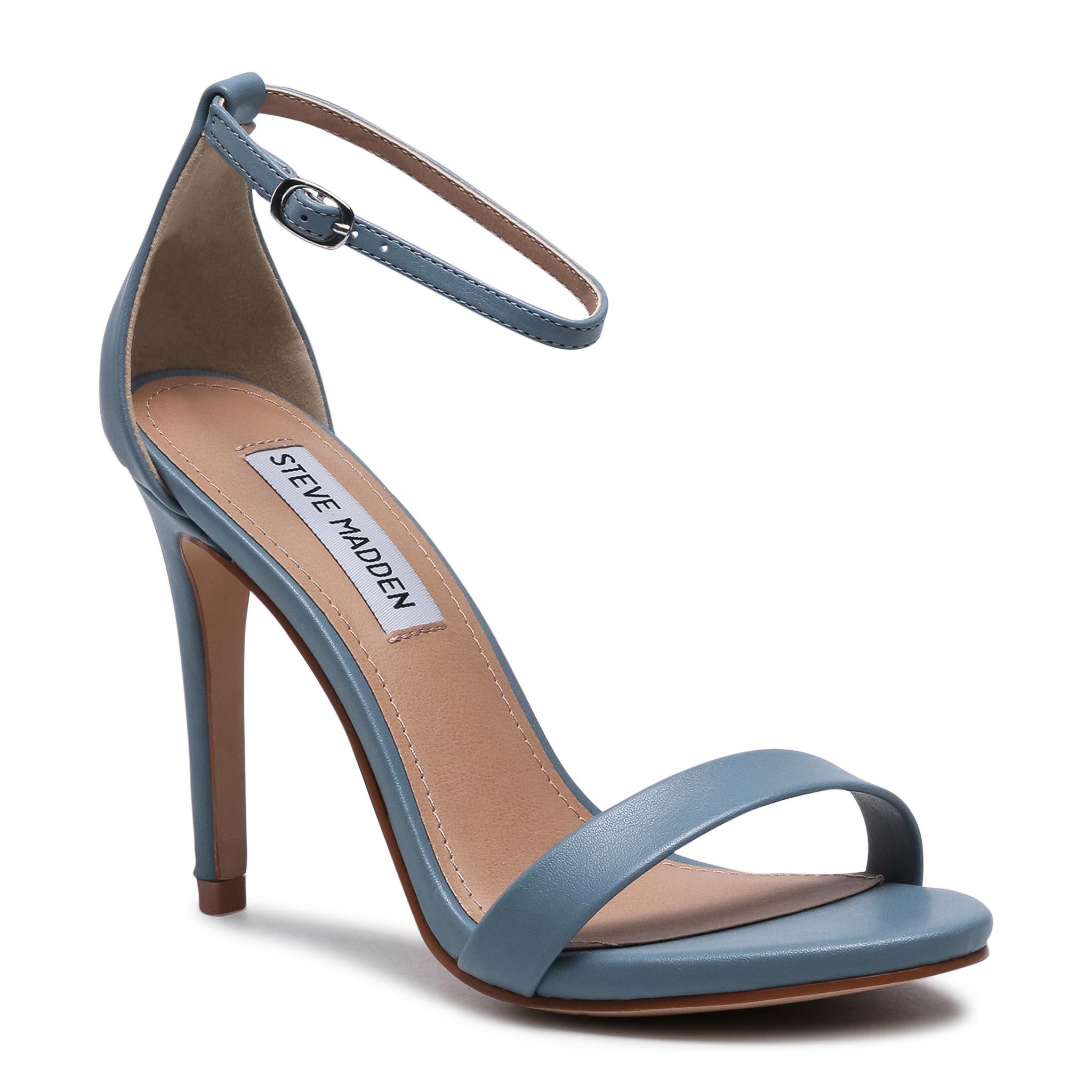 Image of High Heels STEVE MADDEN - Stecy SM11000010-02002-47C Slate Blue