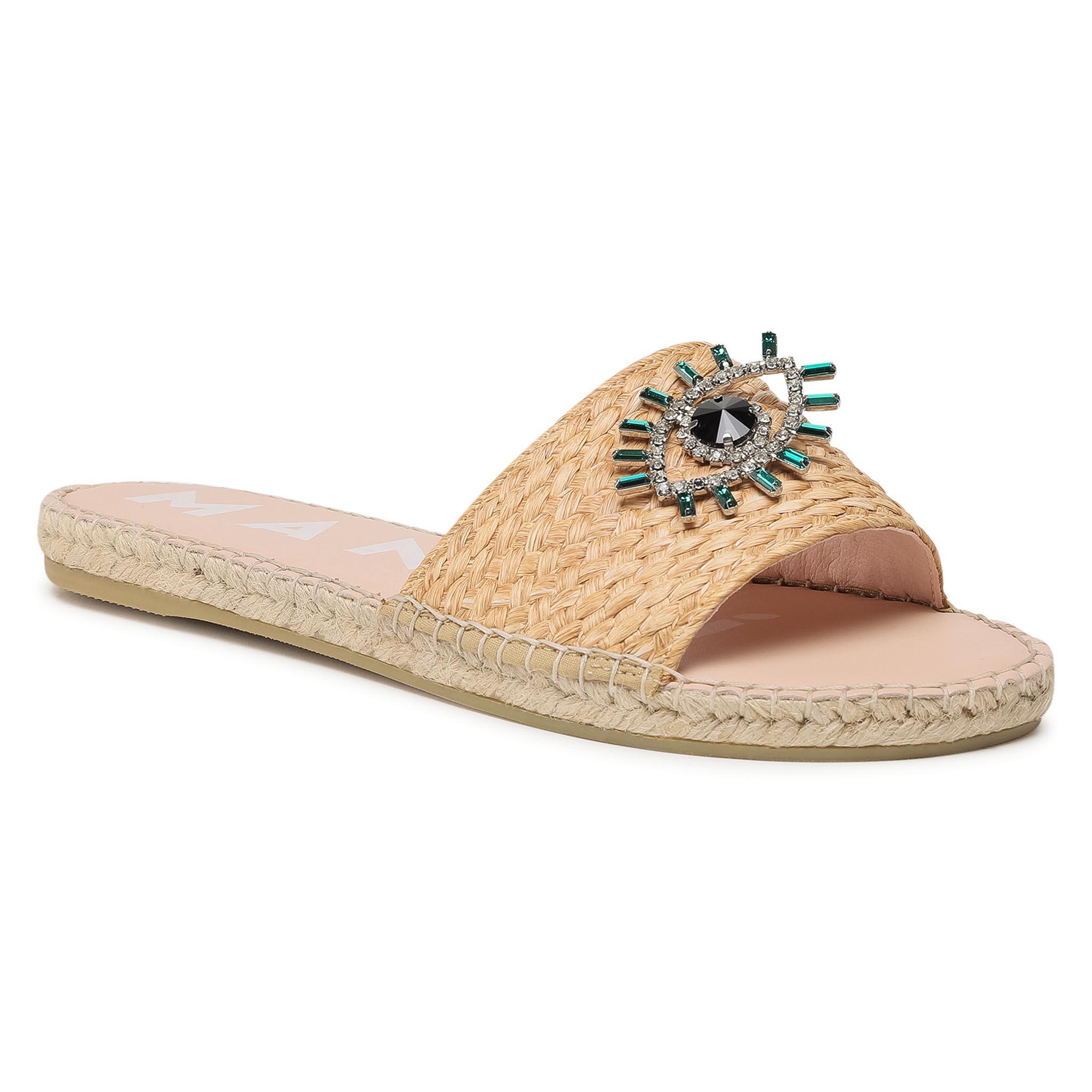 Image of Espadrilles MANEBI - Flat Sandals G 5.0 Js Natural W Evil Eye