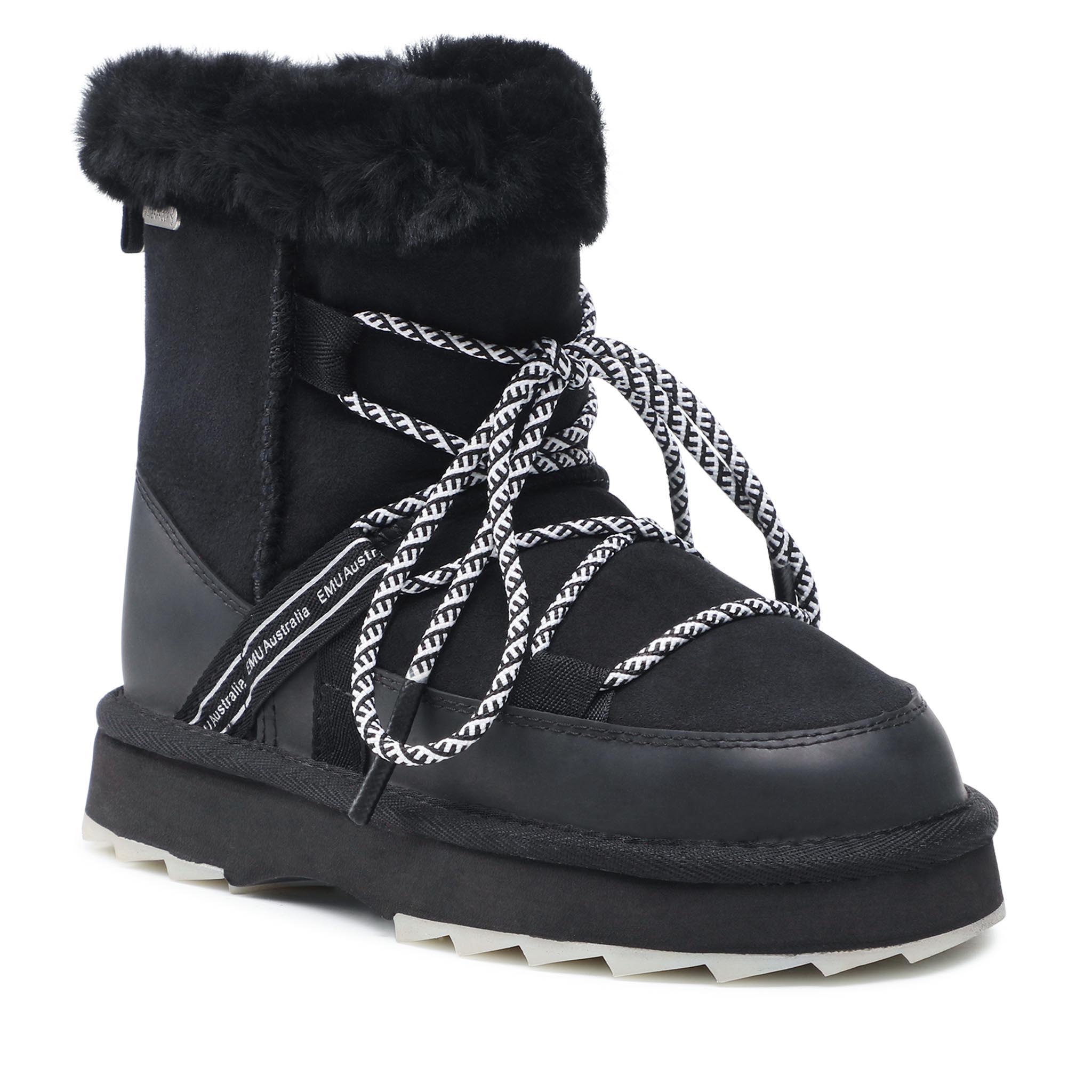 Image of Schuhe EMU AUSTRALIA - Blurred W12641 Black