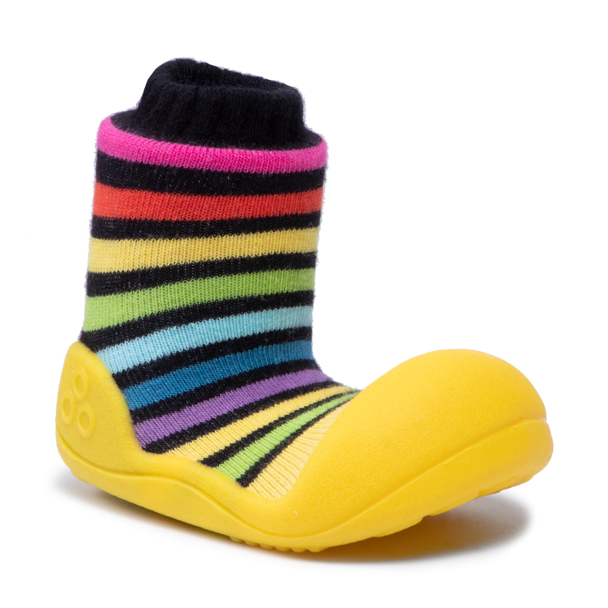 Image of Hausschuhe ATTIPAS - AR05 Yellow Rainbow