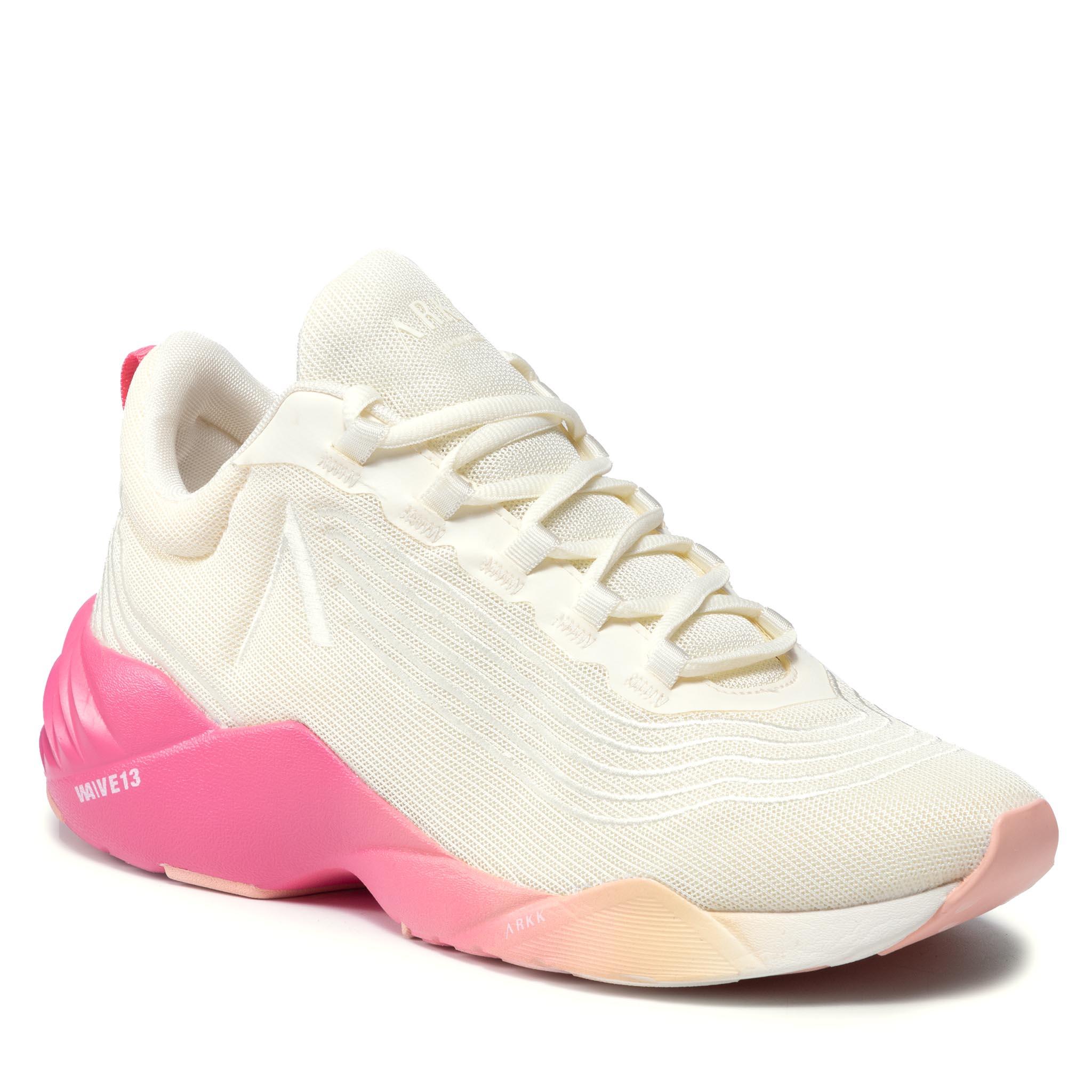 Image of Sneakers ARKK COPENHAGEN - Avory Mesh W13 CO4912-0178-M Marshmallow/Camellia/Rose
