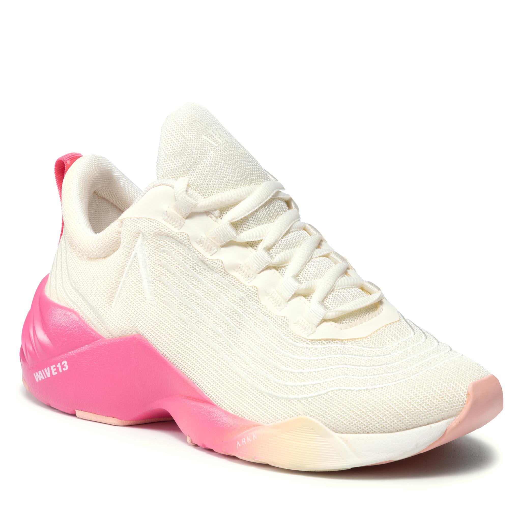 Image of Sneakers ARKK COPENHAGEN - Avory Mesh W13 CO4912-0178-W Marshmallow/Camellia/Rose