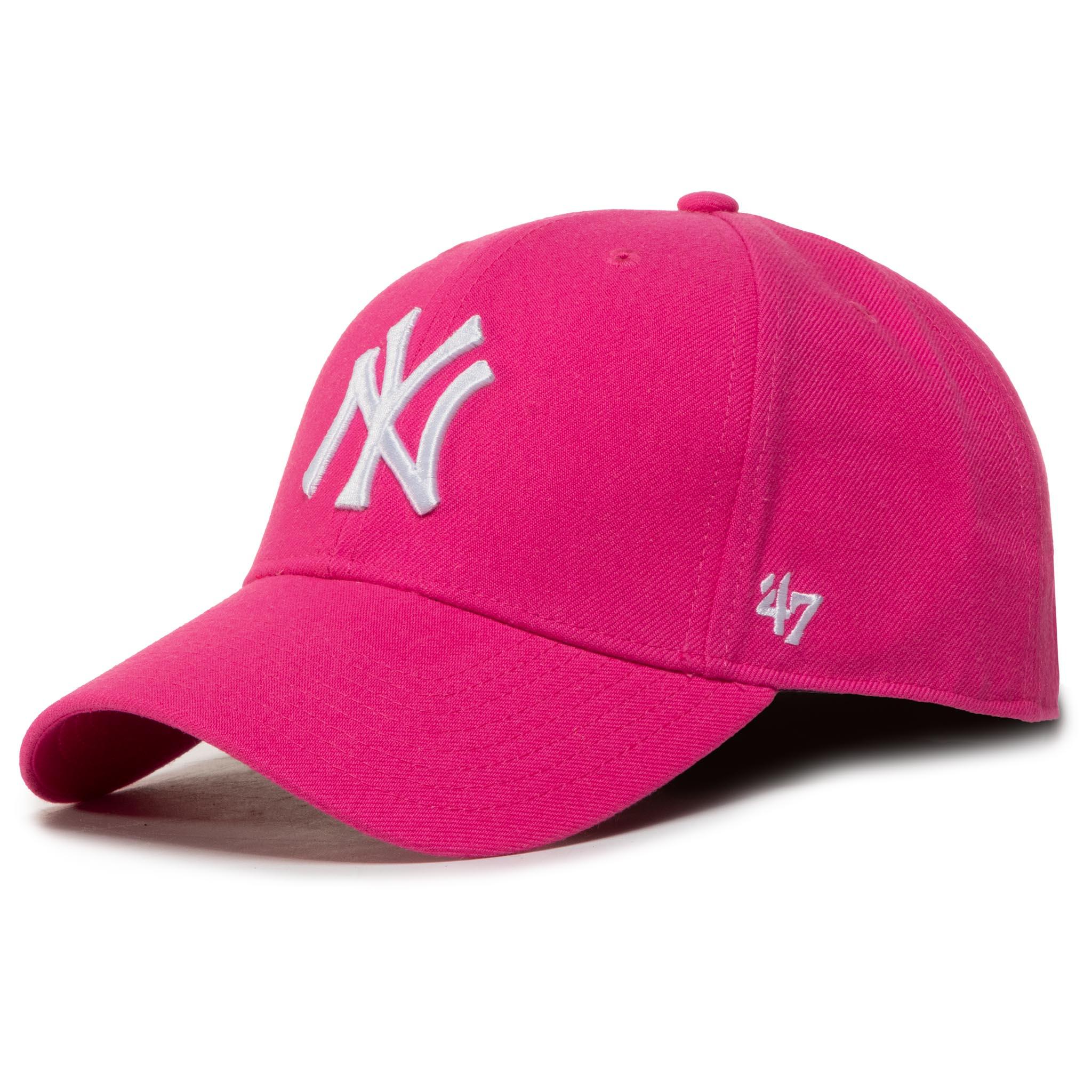 Image of Cap 47 BRAND - Mlb New York Yankees '47 Mvp Snapback B-MVPSP17WBP-MA Magenta