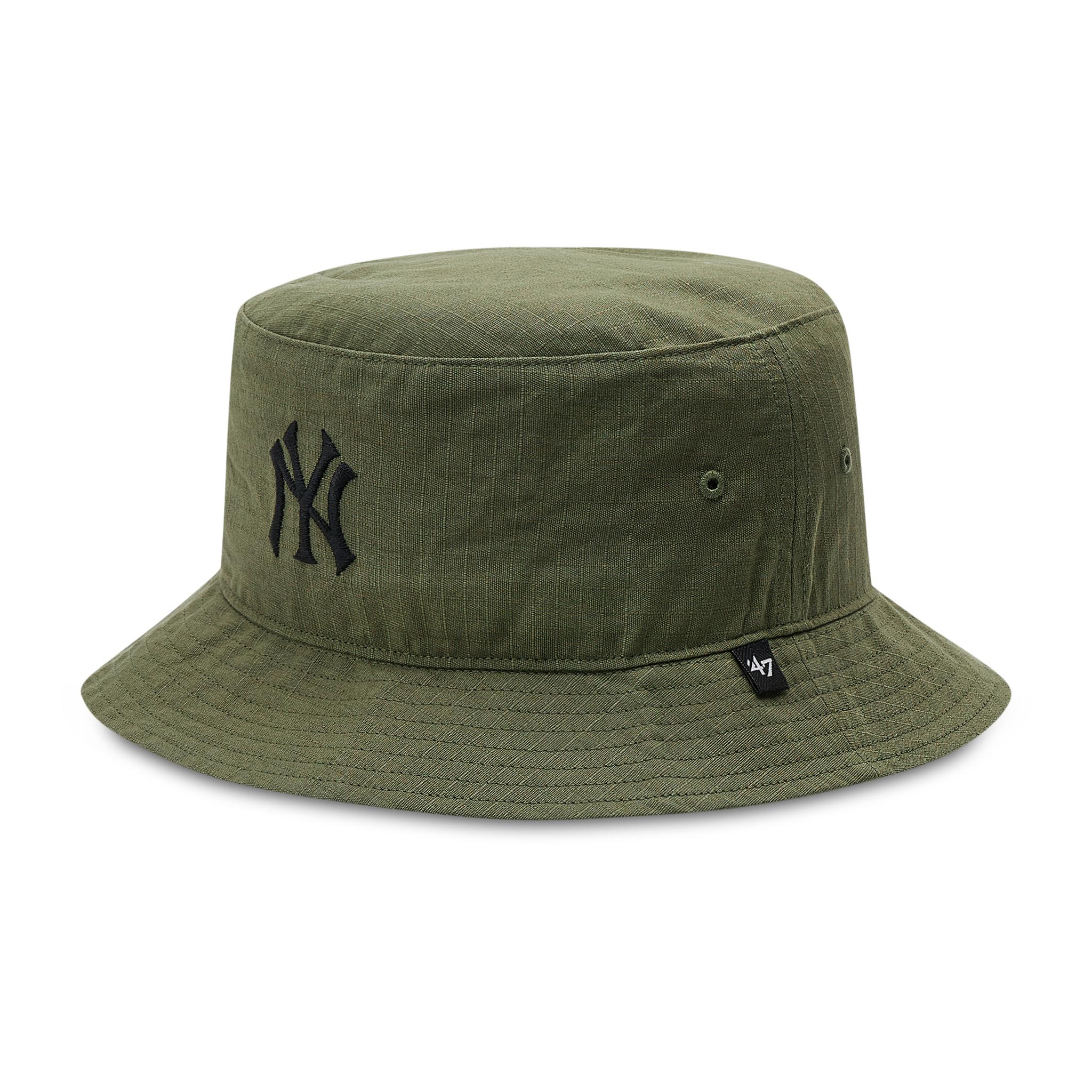 Image of Bucket Hat 47 BRAND - New York Yankees Grid Lock B-GRDLB17RCF-XC Conopy