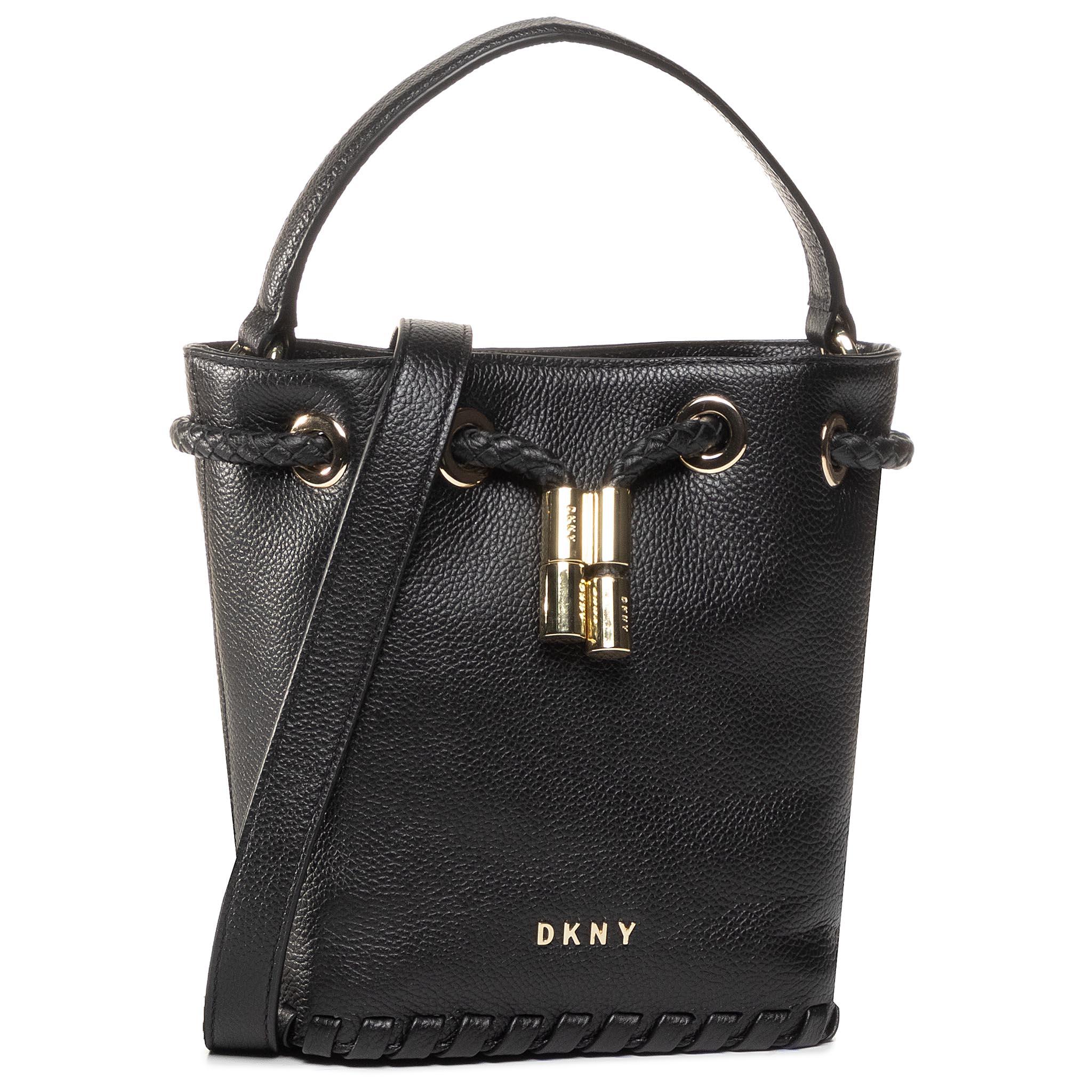 Image of Handtasche DKNY - Winnie Sm Bucket R02JUI94 Blk/Gold BGD