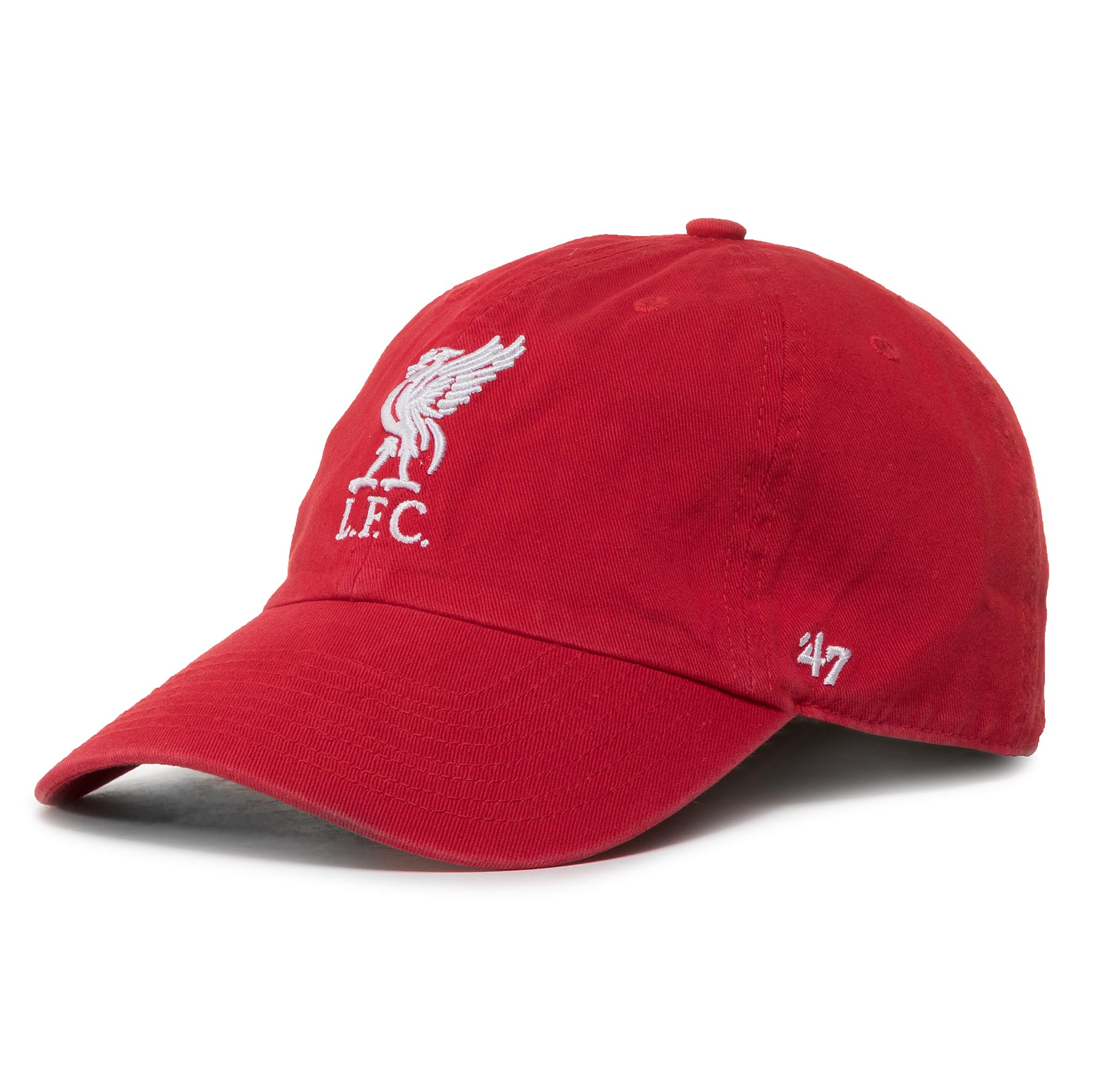 Image of Cap 47 BRAND - Liverpool Fc '47 Clean Up EPL-RGW04GWS-RDA Red