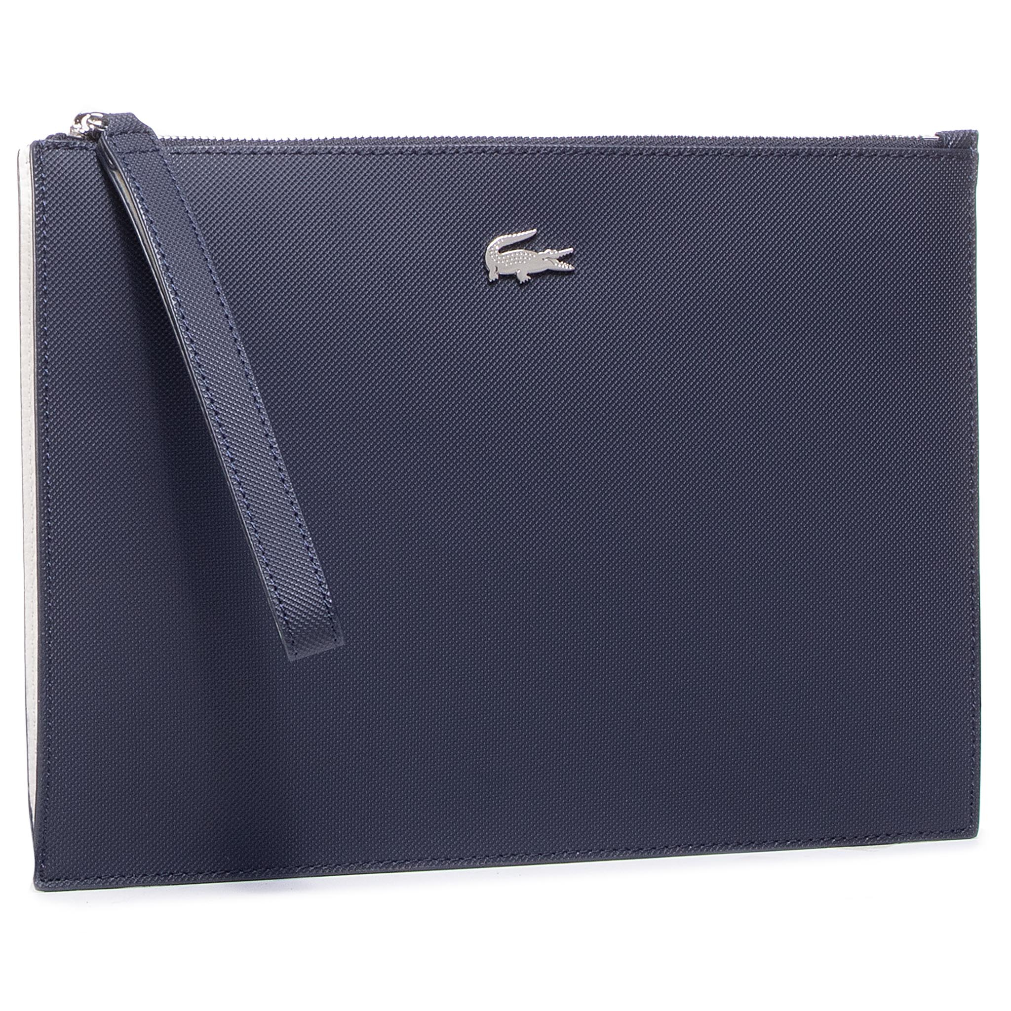 Image of Handtasche LACOSTE - Clutch NF2791AA Clay/Pink Madras C93