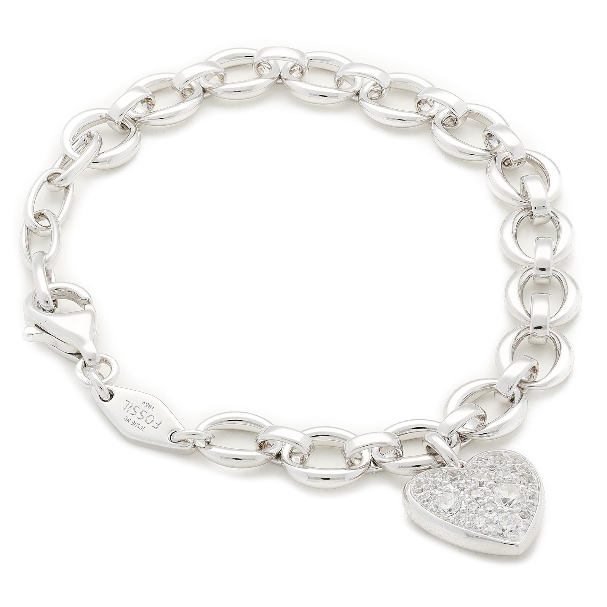 Image of Armband FOSSIL - Motif Items JFS00153040 Silver
