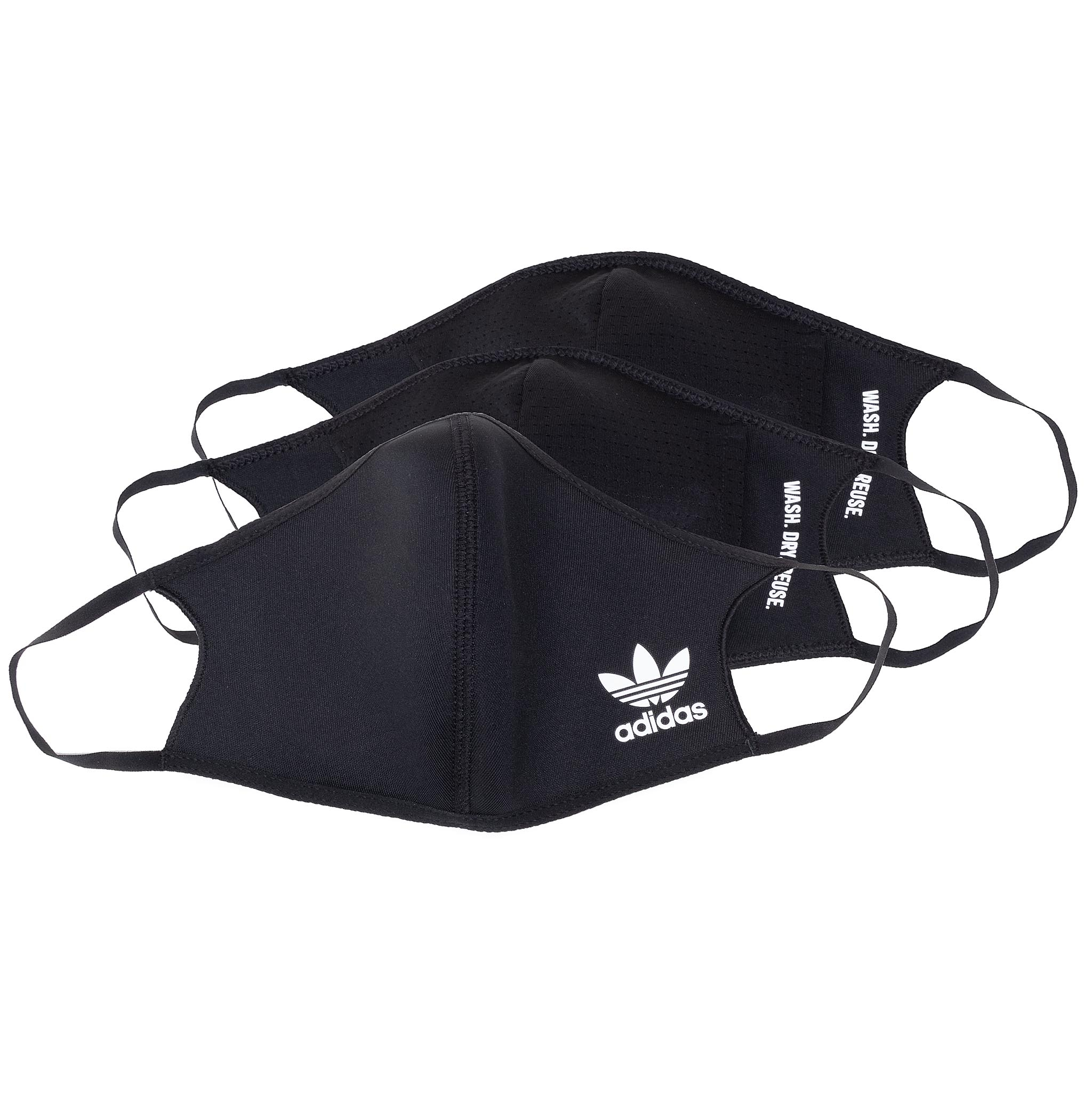 Image of 3er-Set Stoffmasken adidas - Face Cvr HB7851 Black