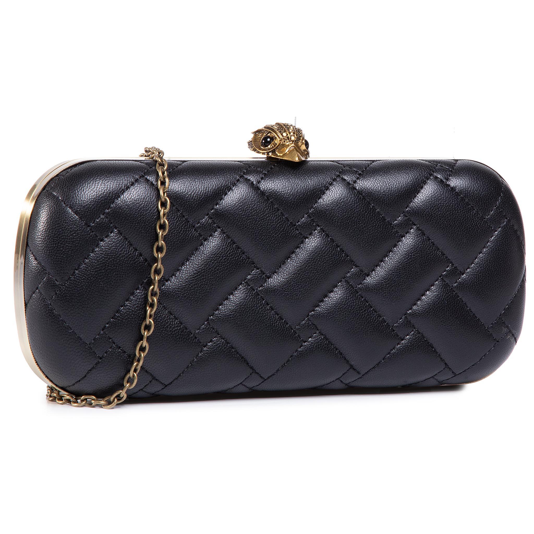 Image of Handtasche KURT GEIGER - Kensington Oval Cluth 5372500109 Black