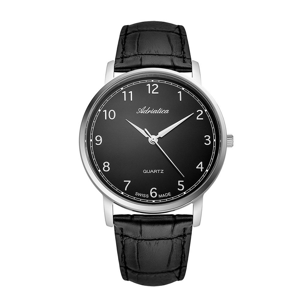 Image of Uhr ADRIATICA - A1287.5224Q Black/Silver