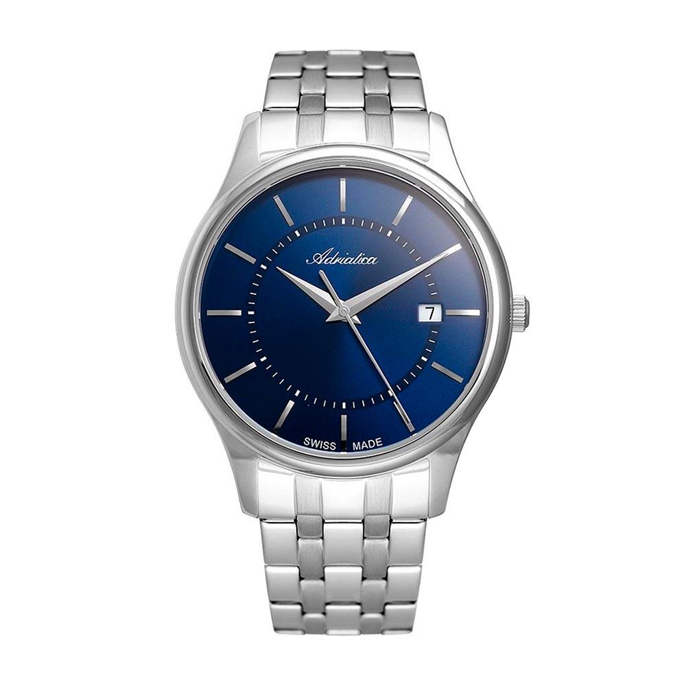 Image of Uhr ADRIATICA - A1279.5115Q Silver/Navy
