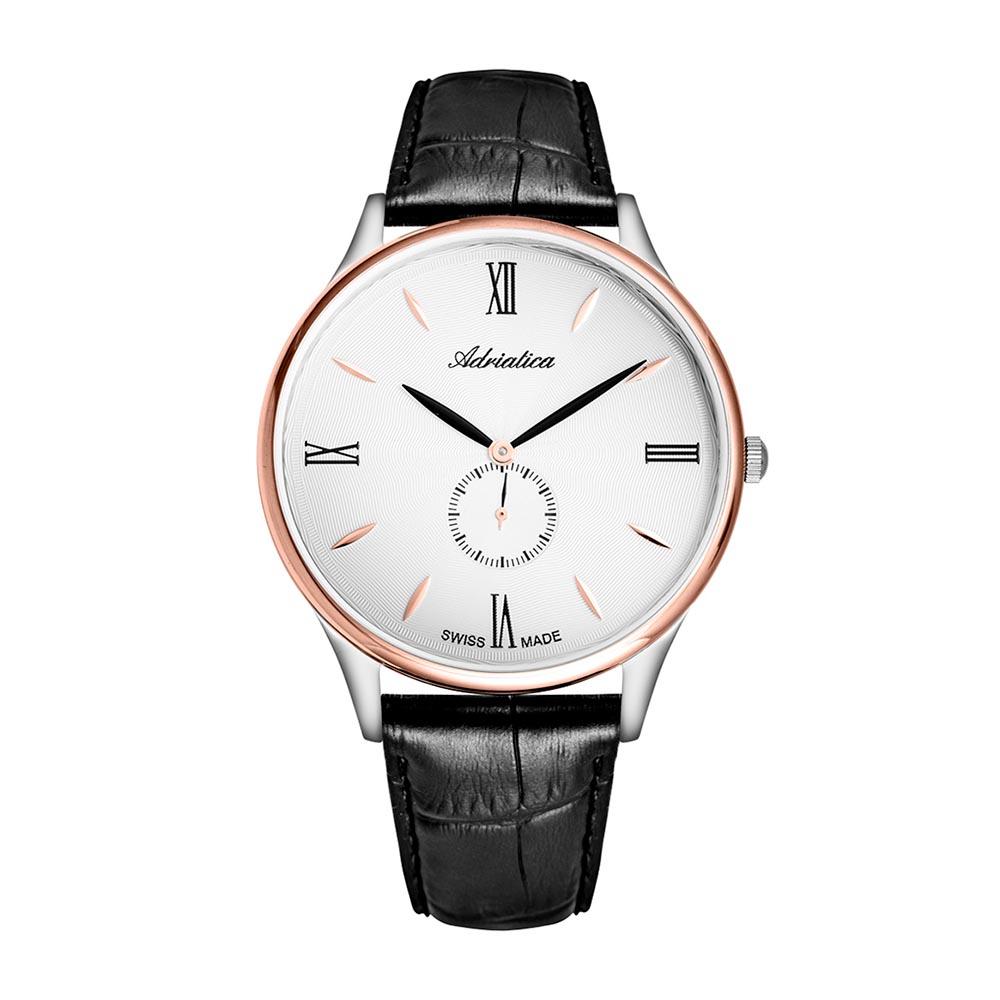 Image of Uhr ADRIATICA - A1230.R263QXL Black/Gold