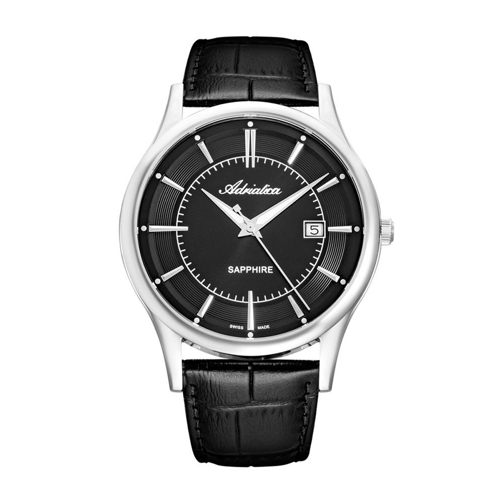 Image of Uhr ADRIATICA - A1296.5214Q Black/Silver