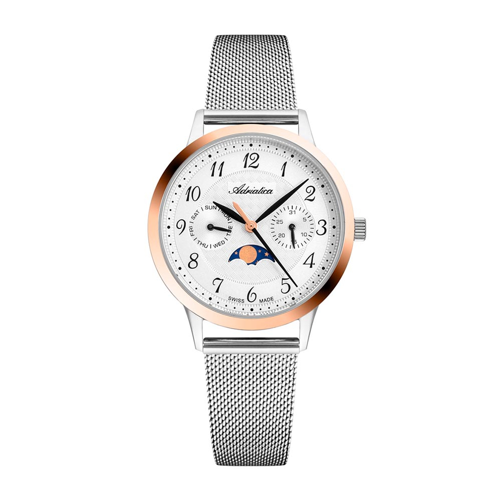 Image of Uhr ADRIATICA - A3174.R123QF Silver/Rose Gold