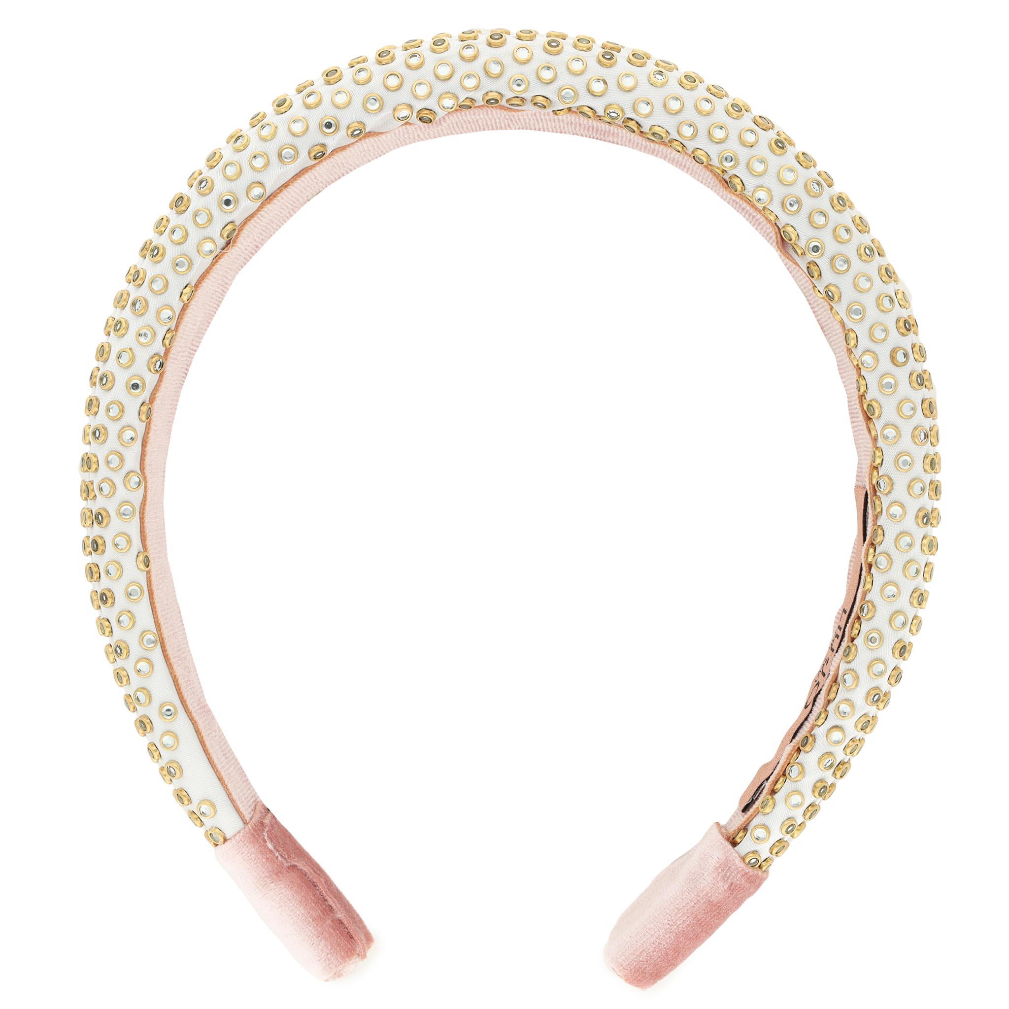 Image of 2er-Set Haarbänder LIU JO - Pack X2 Cerechietti 2A1046 T0300 Silver Pink/Stars T9450
