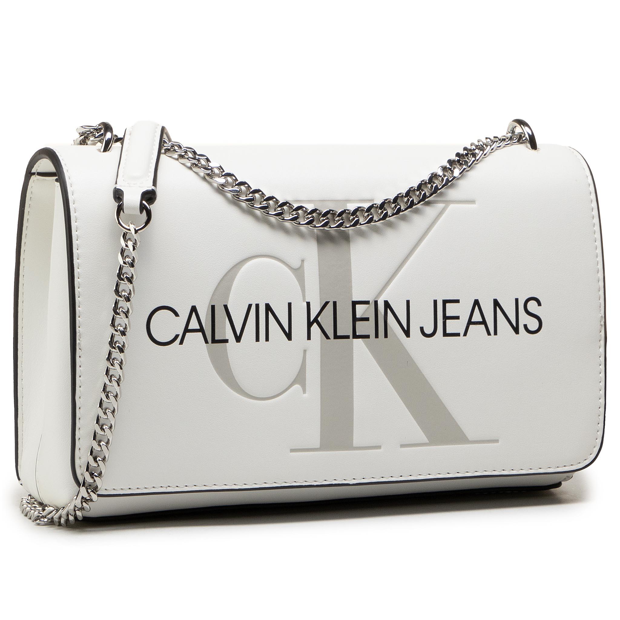 Image of Handtasche CALVIN KLEIN JEANS - Convertible Ew Flap K60K607198 YAF