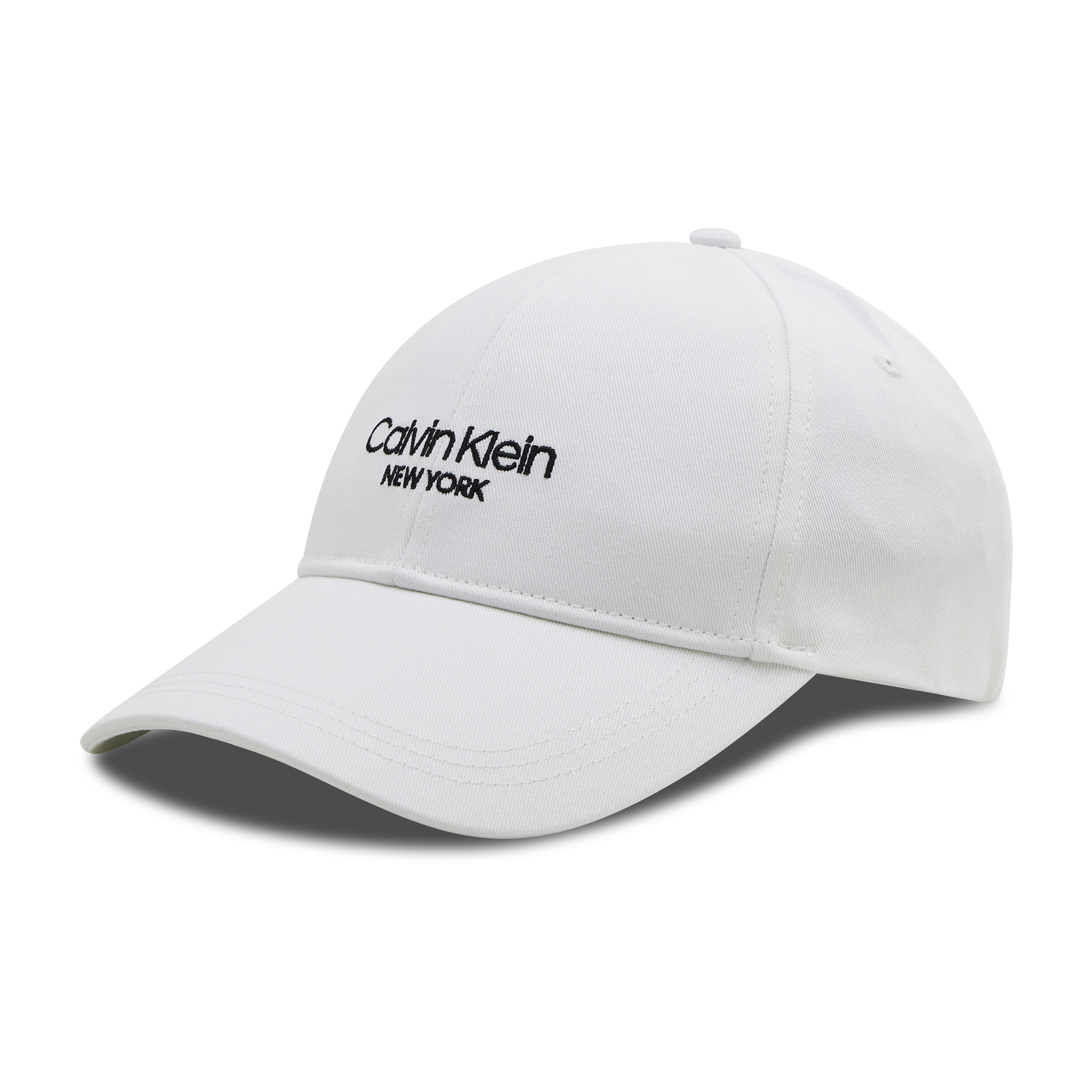 Image of Cap CALVIN KLEIN - Ck Ny Bb Cap K60K606381 WHT