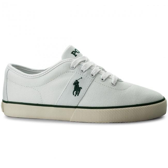 Herren POLO Ralph Lauren Sneaker HALFORD blau mittel