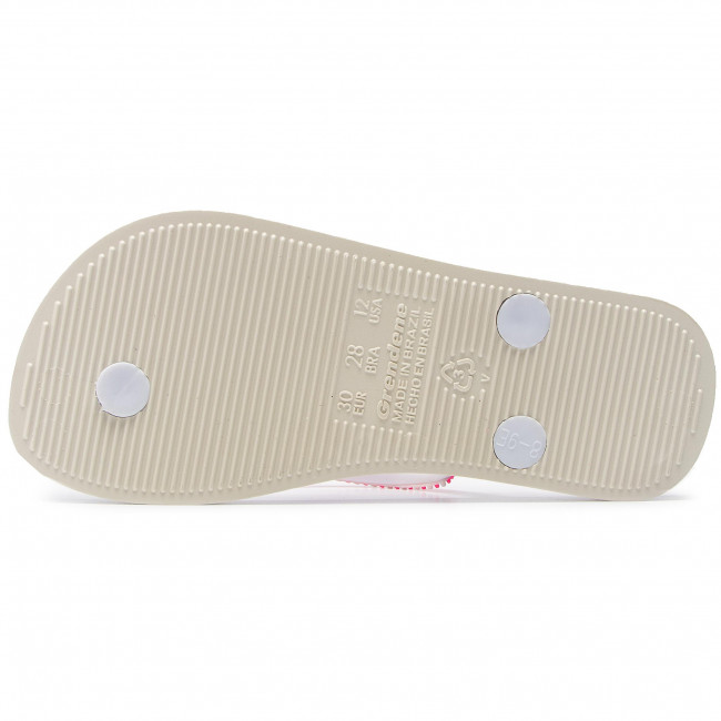 Bestbewertet Zehentrenner IPANEMA - Anat Lovely II KI 82519 White/White 20746 - Zehentrenner - Pantoletten und Sandaletten - Mädchen - Kinderschuhe NkYFl