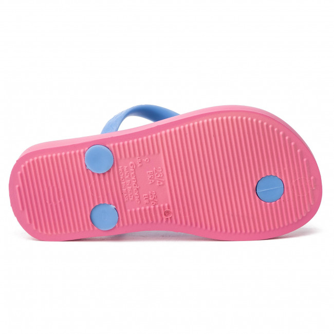Auf dem Laufenden Zehentrenner IPANEMA - Classic VII Kids 82536 Pink/Blue 20248 - Zehentrenner - Pantoletten und Sandaletten - Mädchen - Kinderschuhe 9oY7F