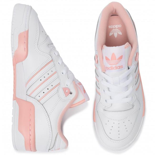 adidas , Mädchen Sneaker Bianco Rosa, Bianco Rosa Größe