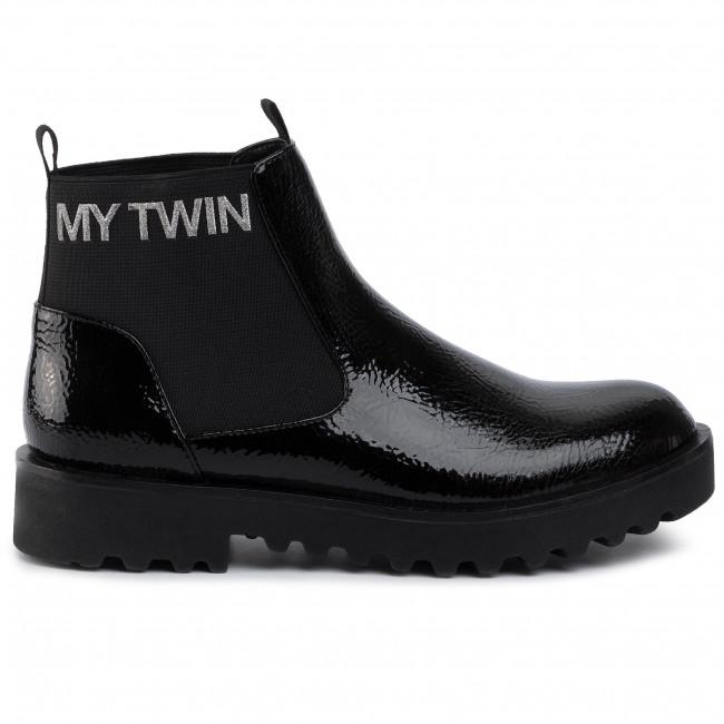 Am billigsten Stiefeletten MY TWIN - Beatles 192MCT094 Nero 0006 - Stiefeletten - Stiefel und andere - Damenschuhe CplPp
