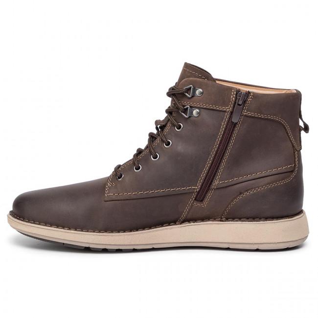 Stiefel CLARKS Un Larvik Peak 261445987 Brown Leather