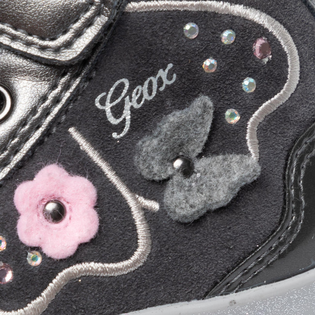 Neueste kaufen Sneakers GEOX - B Kilwi G. A B94D5A 022HI C9002 M Dk Grey - Schnürschuhe - Stiefel und andere - Mädchen - Kinderschuhe nZI6A