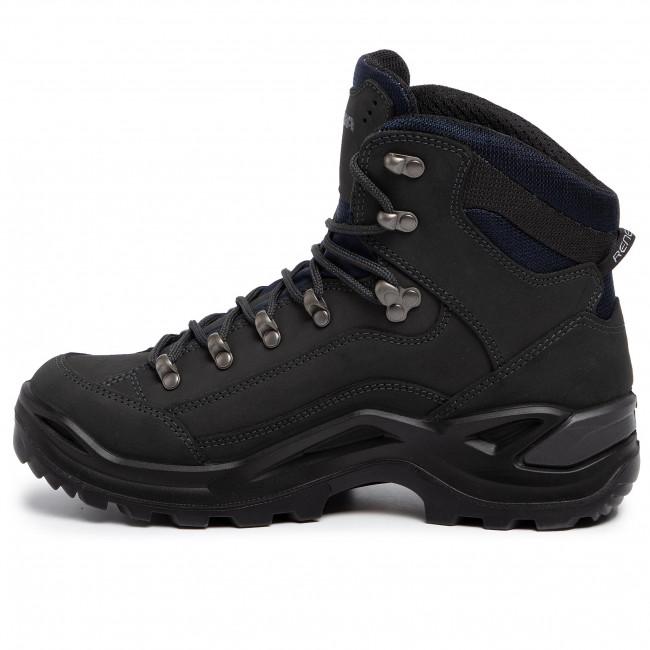 Trekkingschuhe LOWA Renegade Gtx Mid GORE TEX 310945 Dark Grey 0954