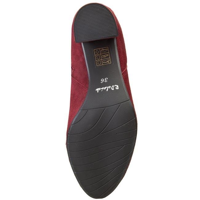 Musketier Stiefel R.POLAŃSKI - 0803 Bordo Zamsz - Stiefel - Stiefel und andere - Damenschuhe iZ3giHGs
