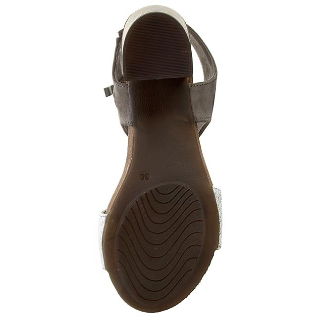 Sandalen KARINO - 1183/002-P Grau - Alltägliche Sandalen - Sandalen - Pantoletten und Sandaletten - Damenschuhe XVig6s5v
