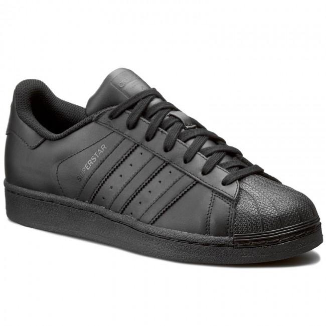 Schuhe adidas - Superstar Foundation AF5666 Cblack/Cblack/Cblack - Sneakers - Halbschuhe - Herrenschuhe L5rXuC2W