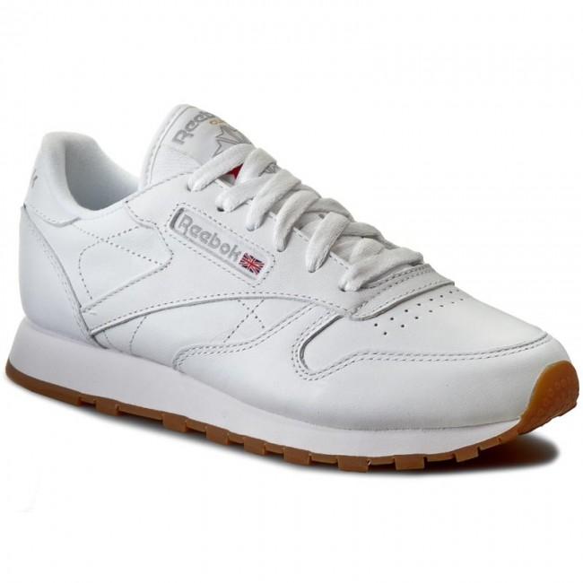 Schuhe Reebok - Cl Lthr 49803 White/Gum