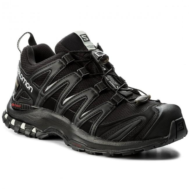 Schuhe SALOMON Xa Pro 3D Gtx GORE TEX 393329 20 V0 BlackBlackMineral Grey