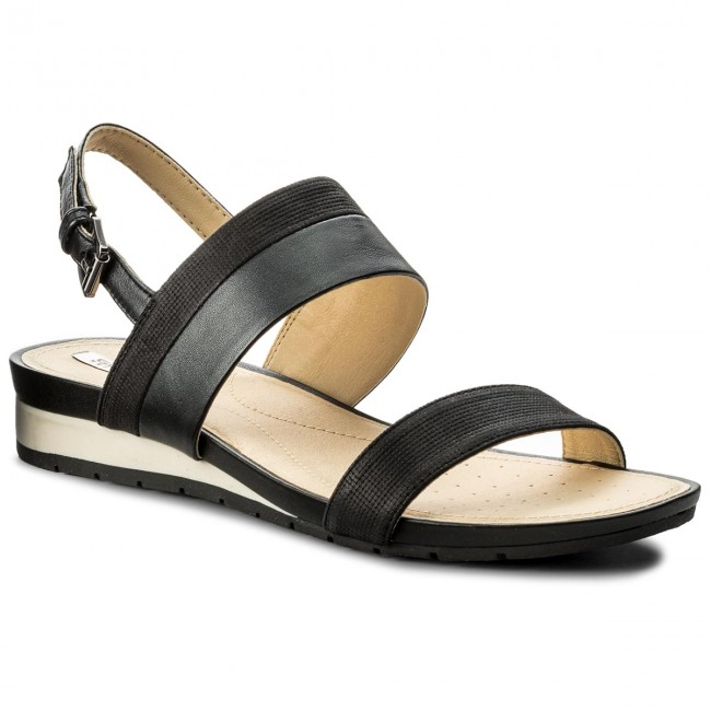 Sandalen GEOX - D Formosa C D7293C 0GLBV C9999 Black - Alltägliche Sandalen - Sandalen - Pantoletten und Sandaletten - Damenschuhe 1CQAepOG