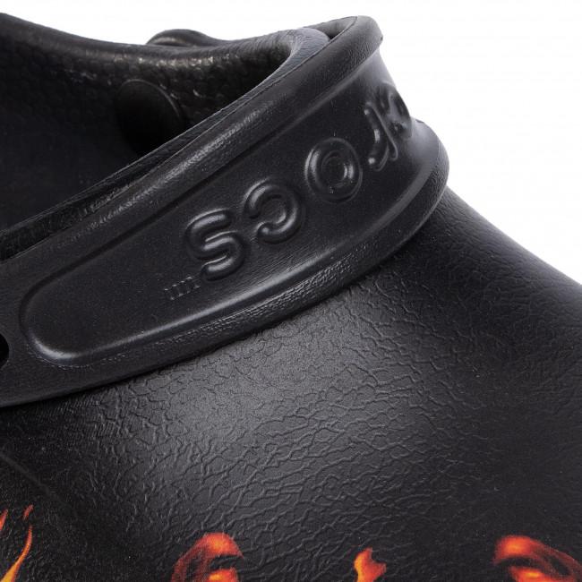 Pantoletten CROCS - Bistro Graphic Clog 204044 Black - Alltägliche Pantoletten - Pantoletten - Pantoletten und Sandaletten - Damenschuhe j9IJt6LT