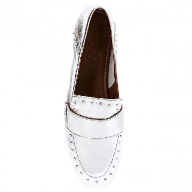 Lords Schuhe INUOVO - 9076 Silver - Lords - Halbschuhe - Damenschuhe Xe2s3oNh