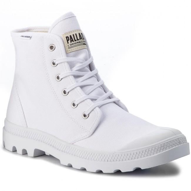 Trapperschuhe PALLADIUM - Pampa Hi Originale 75349-101-M White/White