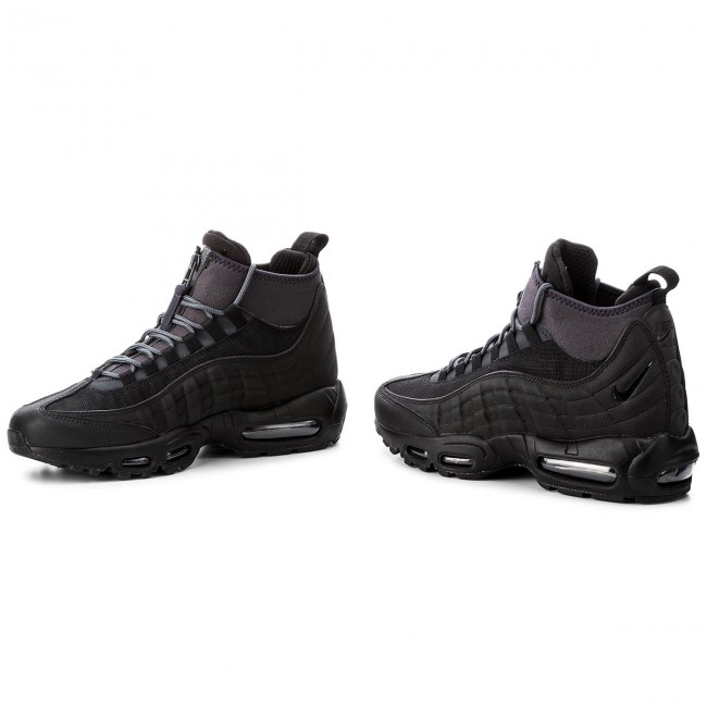 Schuhe NIKE Air Max 95 Sneakerboot 806809 001 BlackBlackAnthraciteWhite