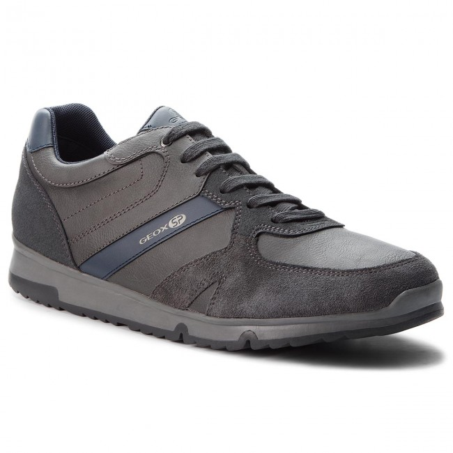 GEOX U AERANTIS A Schuhe Men Herren Sneaker Leder Halbschuhe