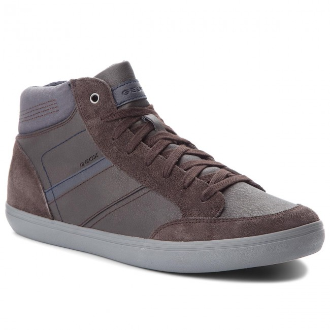 Sneakers GEOX U Box E U84R3E 0ME22 C6MF4 CoffeeNavy