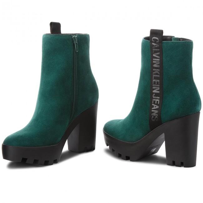 Stiefeletten Re9768 Serina Calvin Klein Jeans Green Ny0wOnvm8P